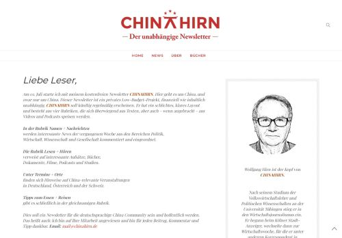 ChinaHirn- Der unabhängige Newsletter