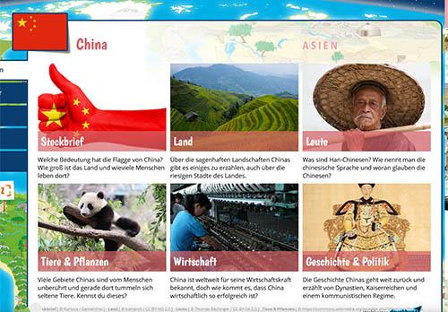 Kinderweltreise - China