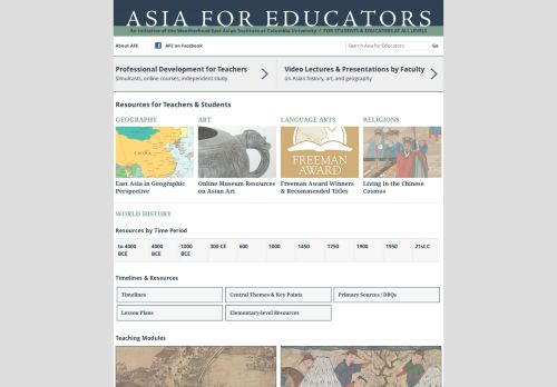 Asia for Educators