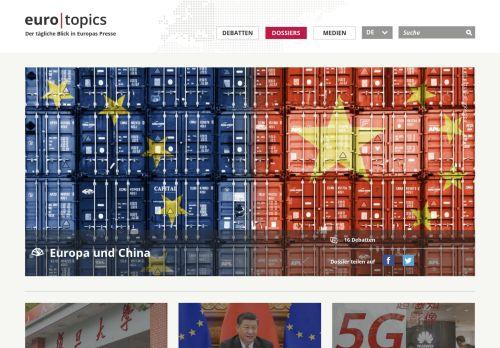 Eurotopics: China