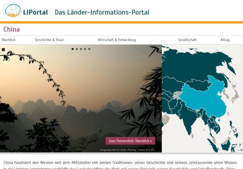 Länder-Informations-Portal: China