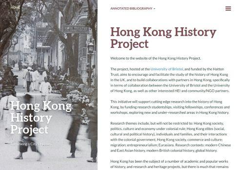 Hong Kong History Project