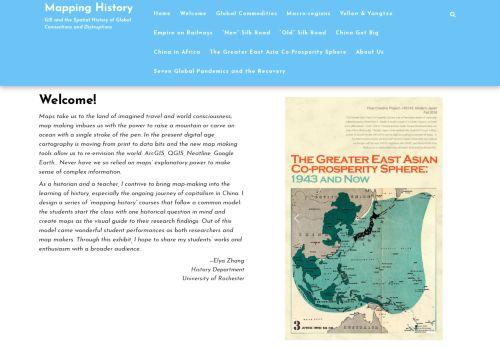Elya Zhang: Mapping History