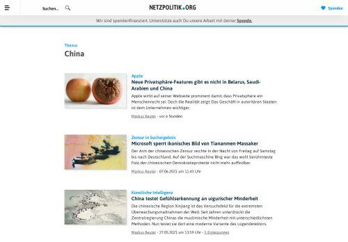netzpolitik.org China