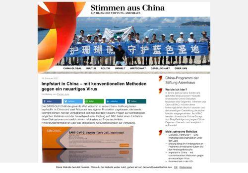 Stimmen aus China