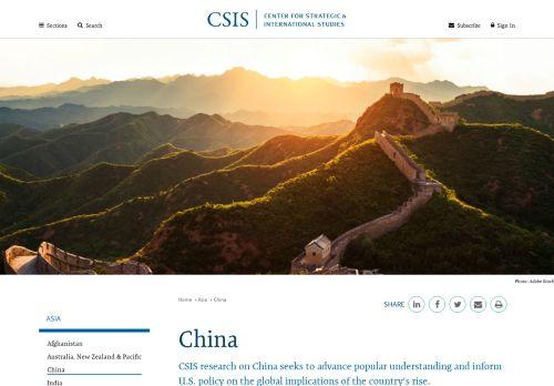 Center for Strategic & International Studies