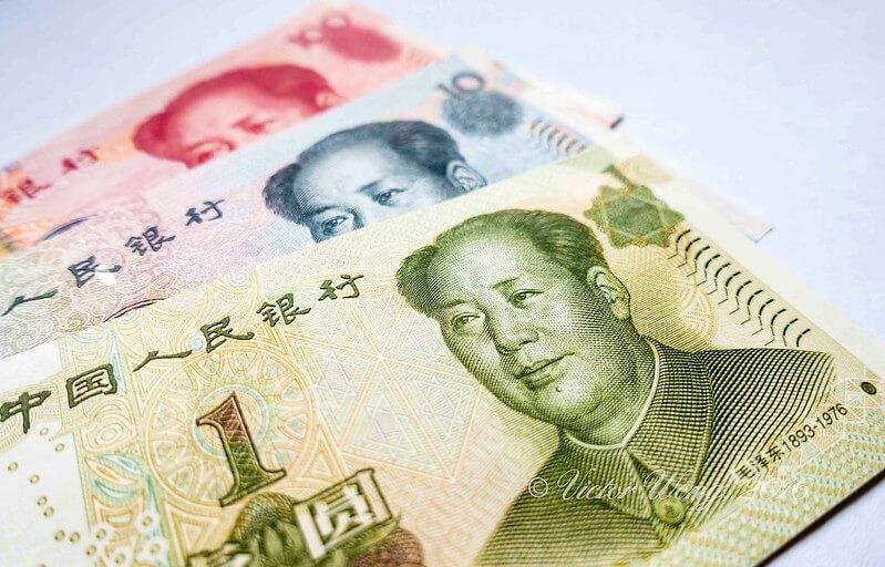 Renminbi Geldscheine
