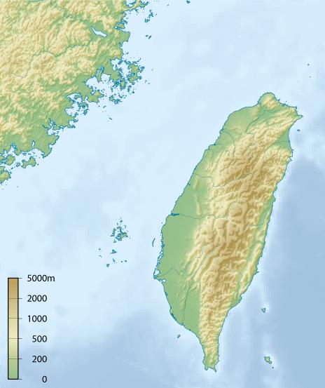 Insel neben chinesischem Festland