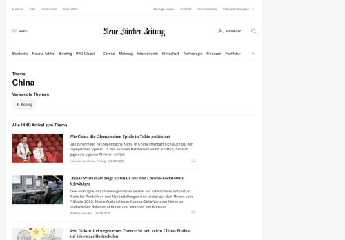 Neue Zürcher Zeitung